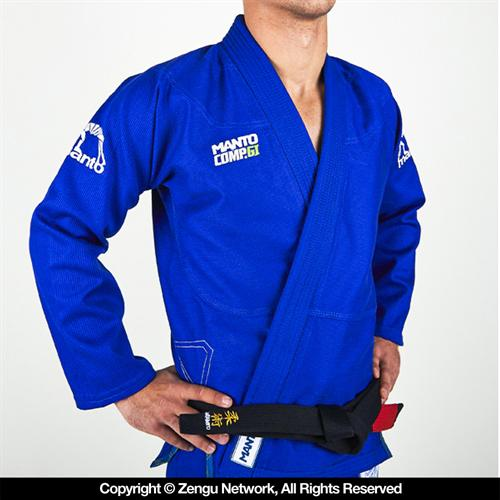 Manto Manto Diamond Blue Competition BJJ Gi